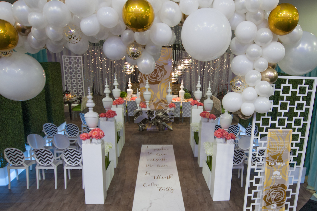Kate Spade wedding inspiration at the UNVEILED Wedding Event