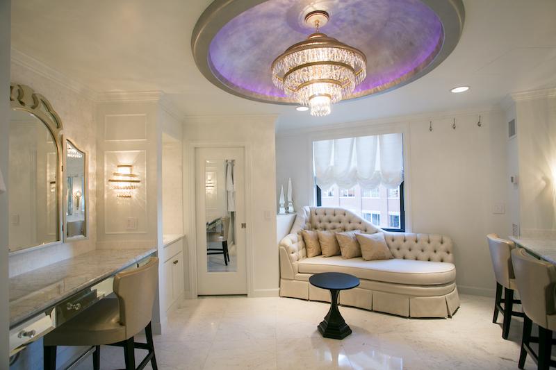 Luxury bridal suite at St. Paul Hotel