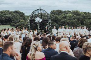 Elegant Minnesota wedding ceremony