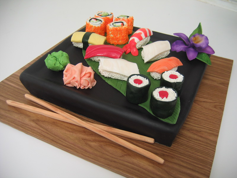 Sushi groom's cake by Classic Cakes