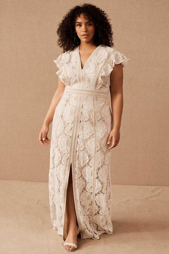 Tadashi Shoji Placid Gown for BHLDN Plus Size line