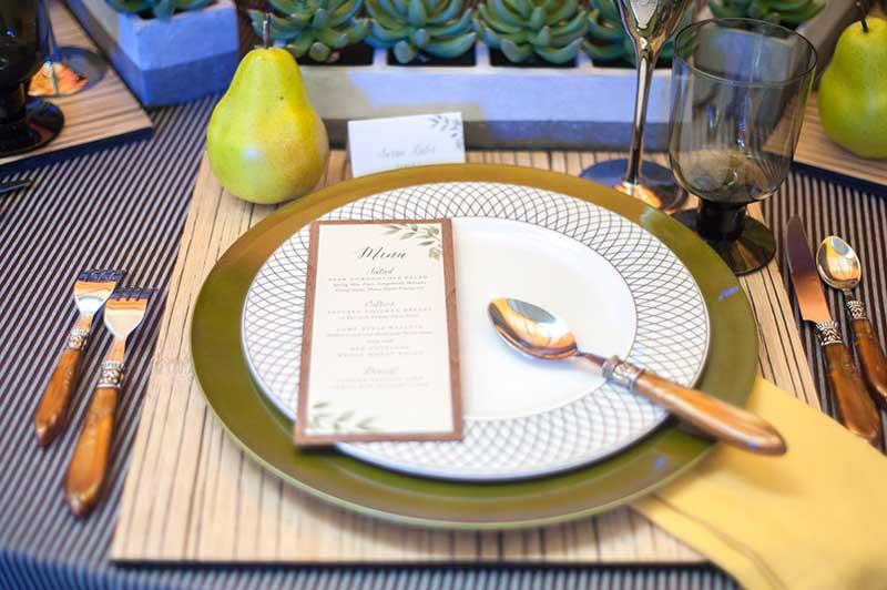 Farm-to-table Inspiration Station Wedding Theme