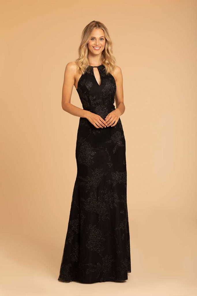 A-line dark bridesmaid dress by Hayley Paige