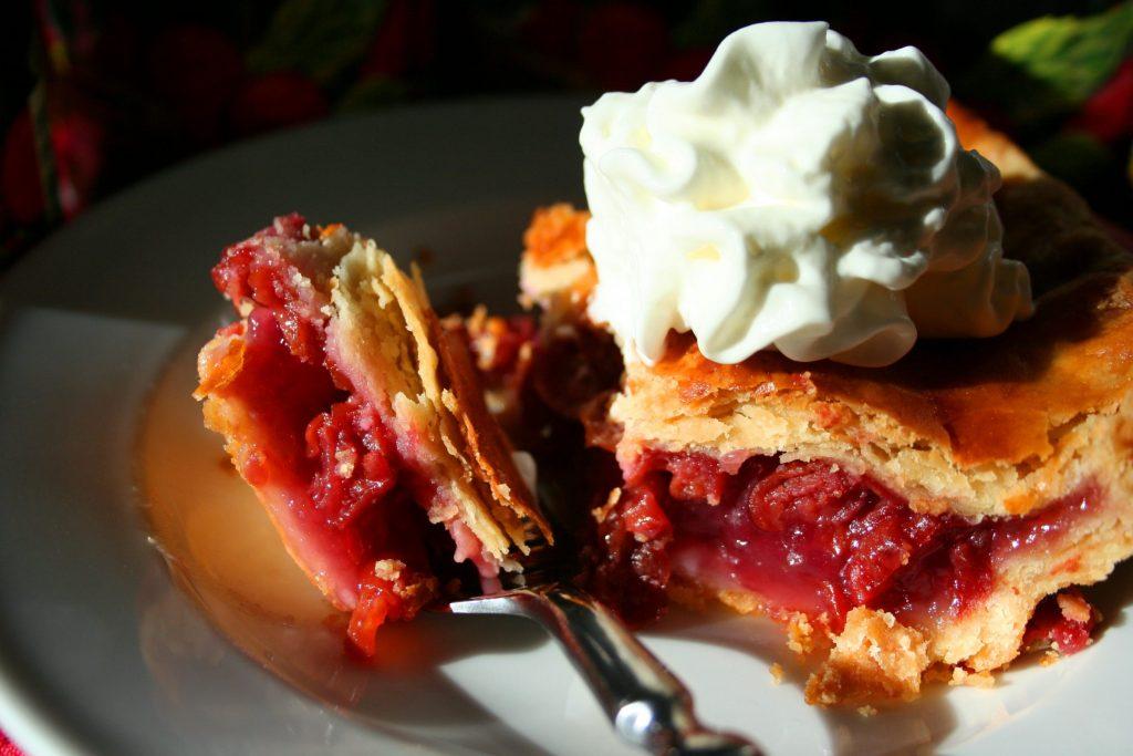 Cherry pie as wedding dessert by JohnJeanJuan