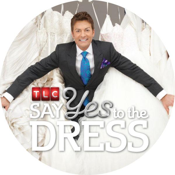 Say Yes to the Dress logo with Randy Fenoli