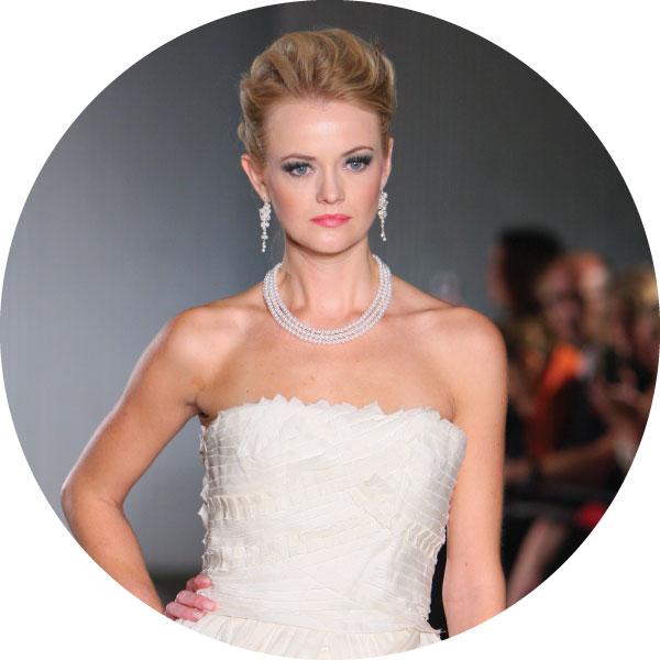 Bridal fashion show in Minnesota