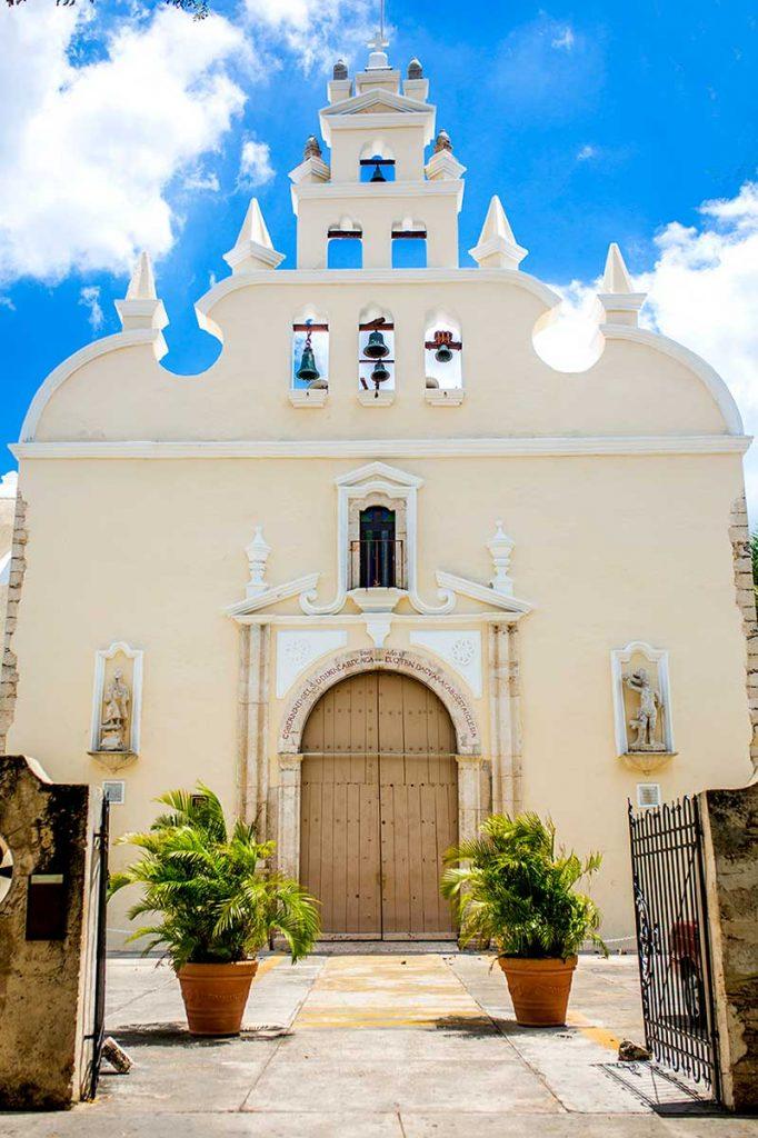 Santiago church in Merida, Yucatan