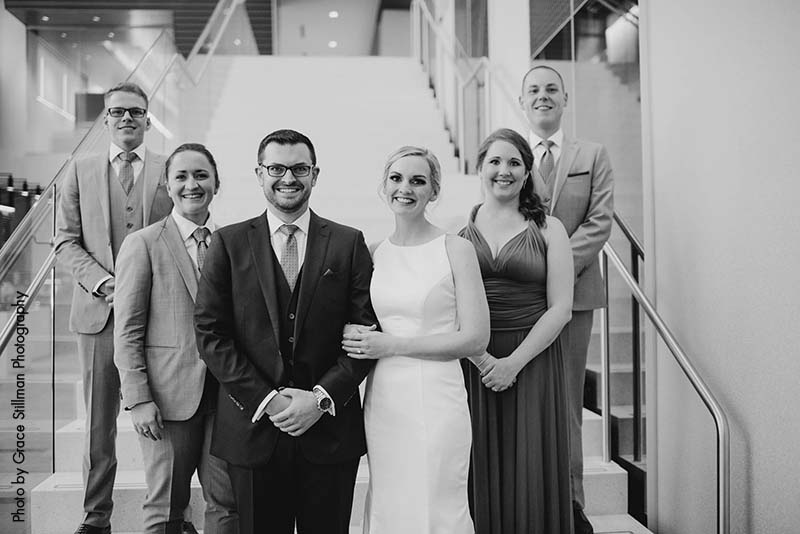 Wedding party at the Intercontinental MSP Airport Hotel