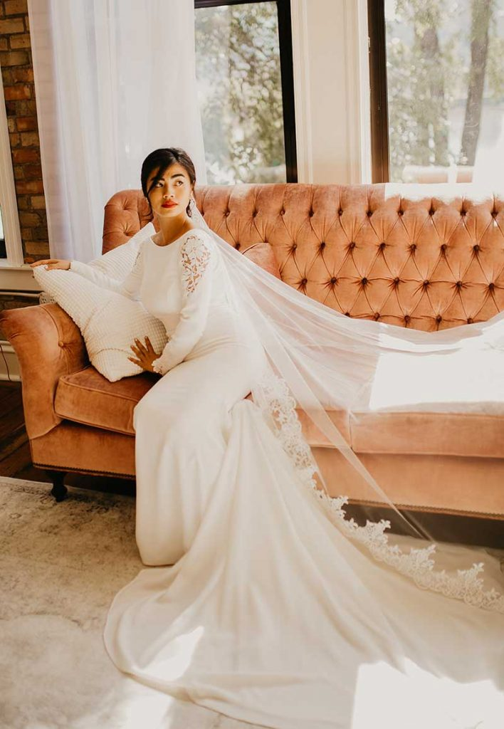 Bride lets others borrow her gown