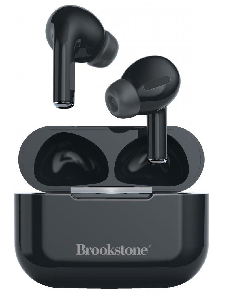 Wireless black headphones