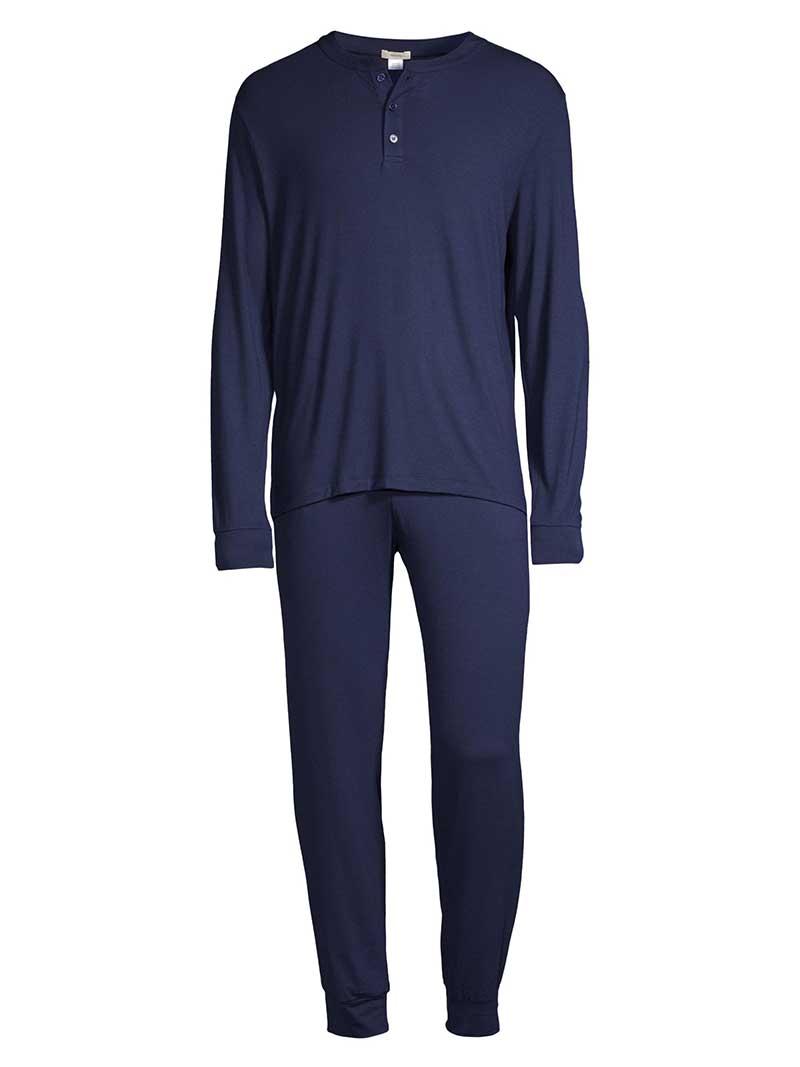 Navy men's pajama set