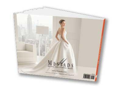 Wedding magazine back cover