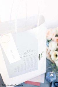 Pandemic wedding welcome bag
