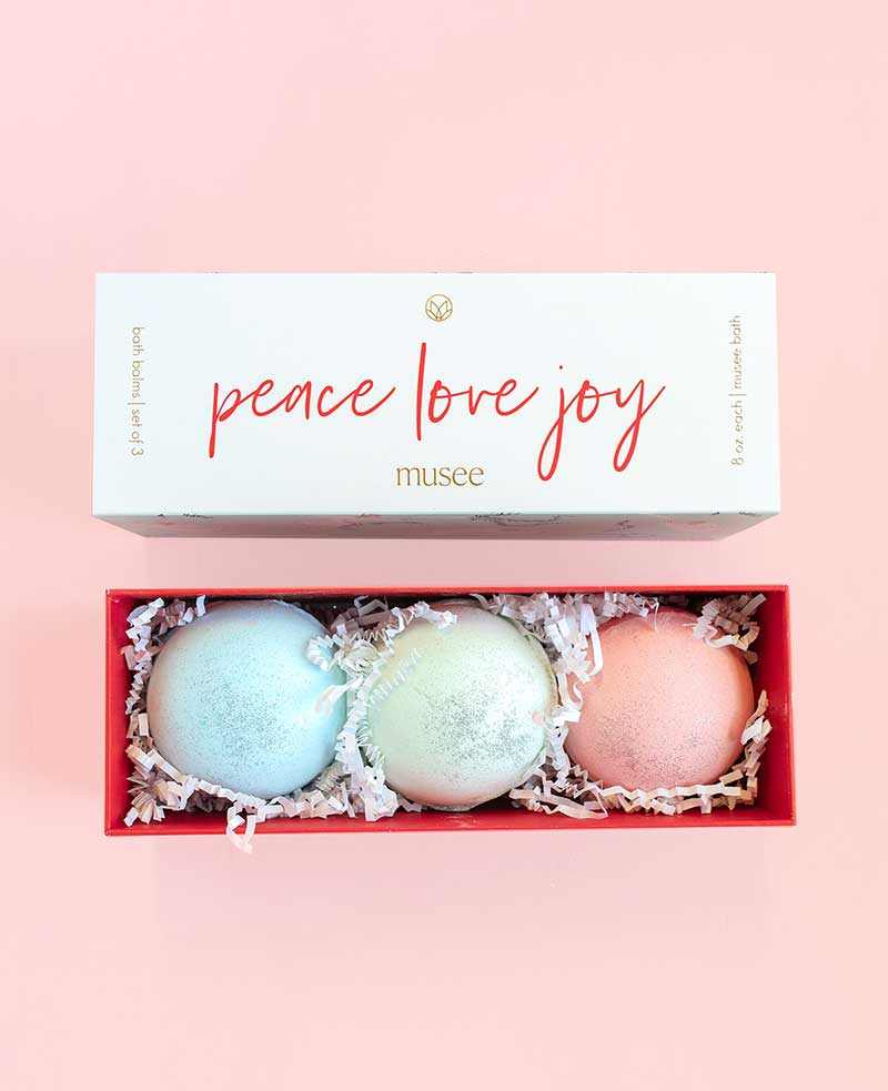 Bath bombs as best holidays gifts