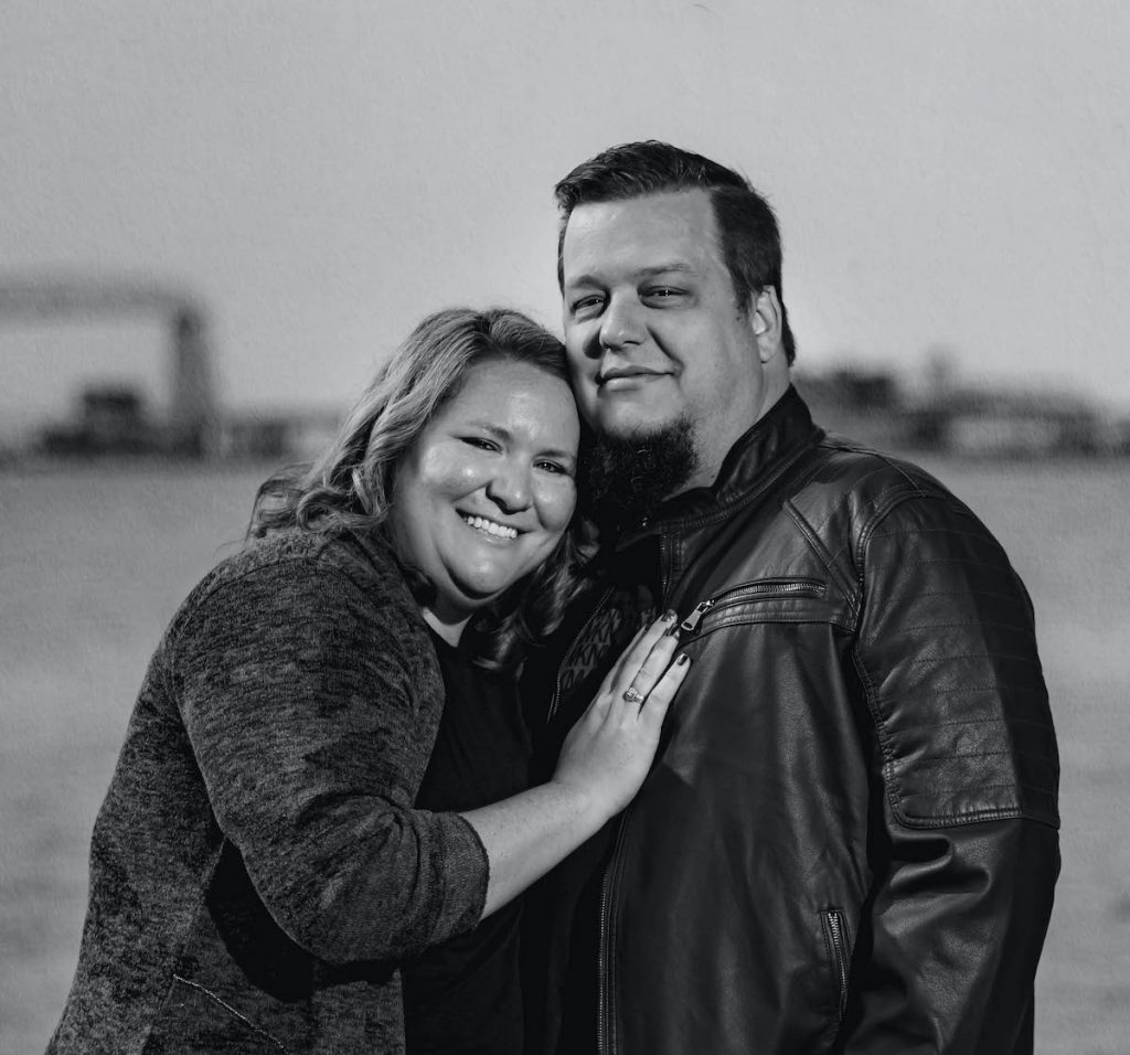 Husband and wife duo Chad and Megan Photography