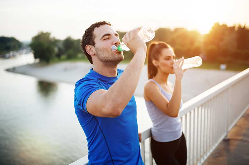 Couples get fit for new year's resolution