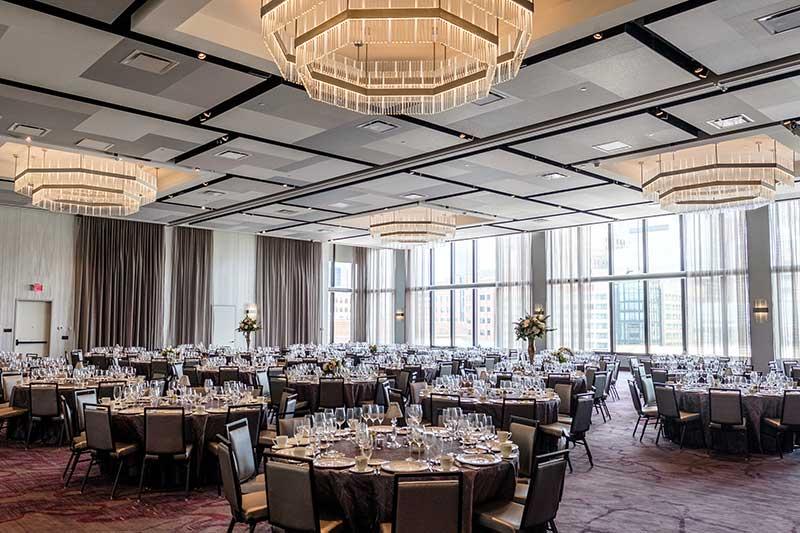 Luxury hotel wedding venue J. Powers