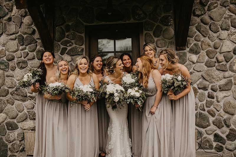 Choosing your wedding party bridesmaids