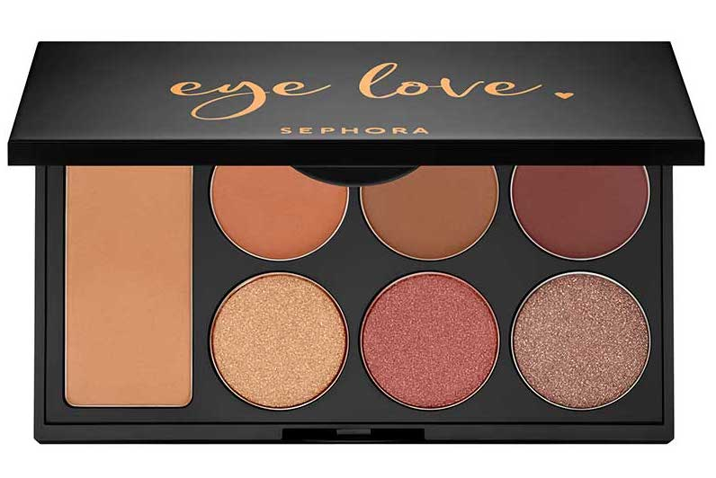 Eye shadow palette from Sephora as Valentine's gift