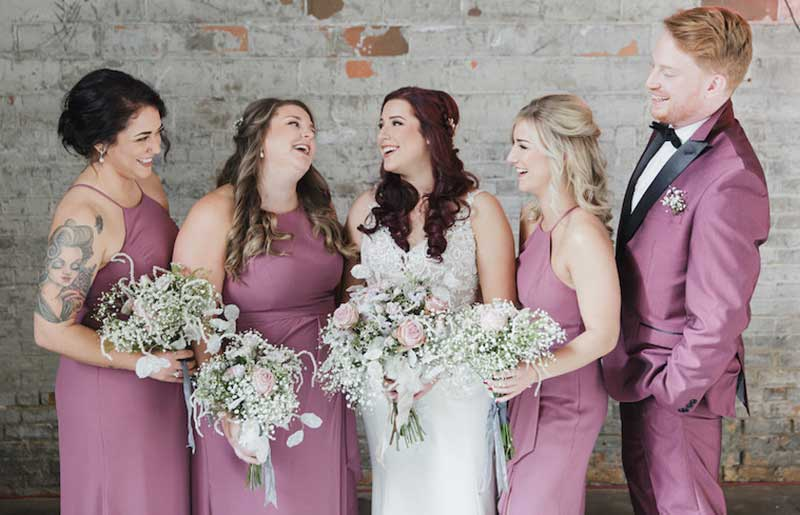 Choosing your wedding party to include mixed genders