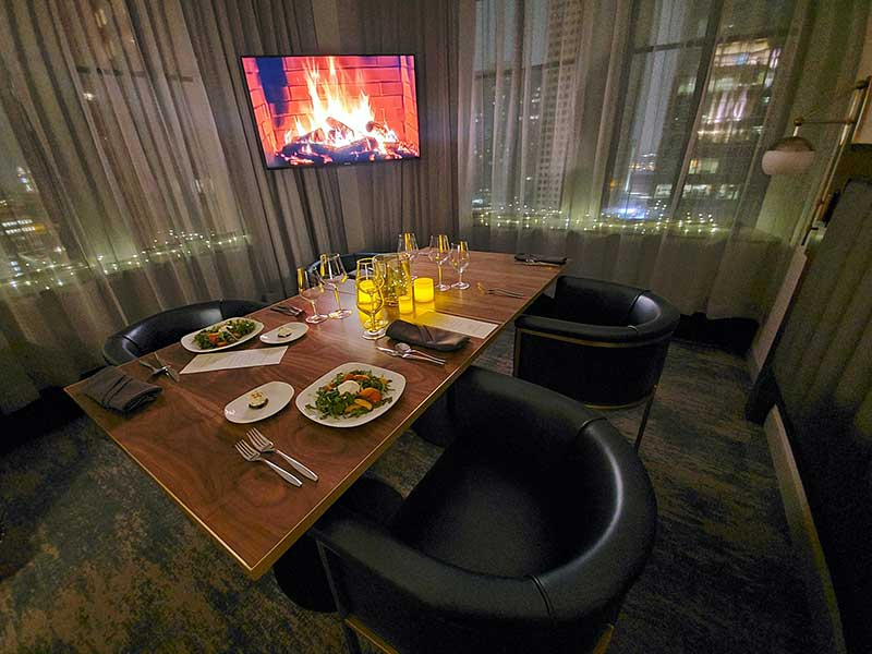 Rand Hotel twin cities valentine's day dinner