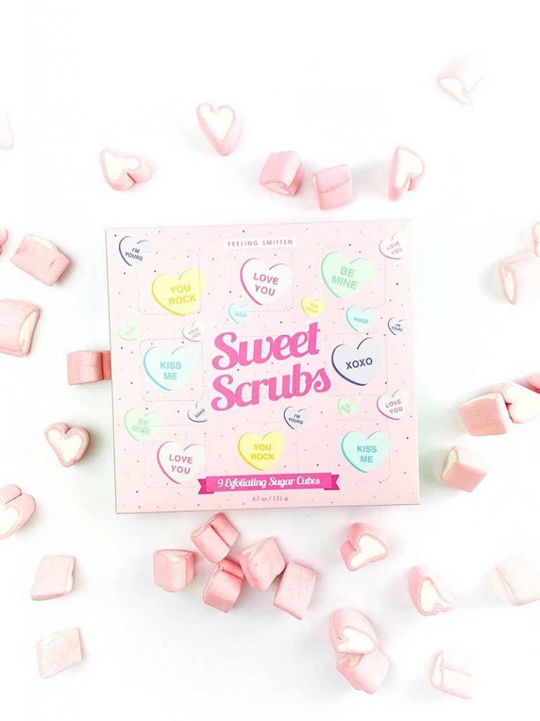 Heart bath cubes