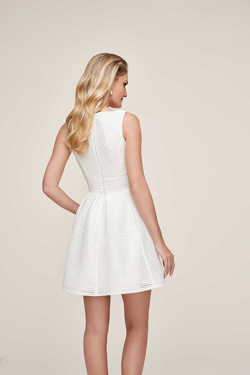 simple short white little white dress collection gown