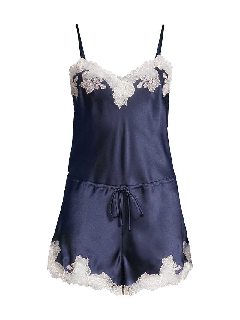 Blue lingerie from saks