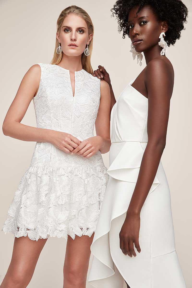 White dress options for wedding events