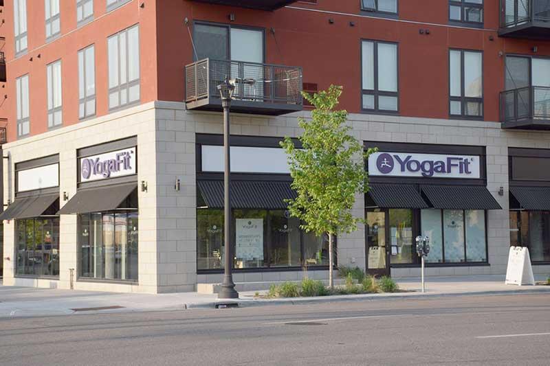 Yogafit yoga studio in Northeast Minneapolis