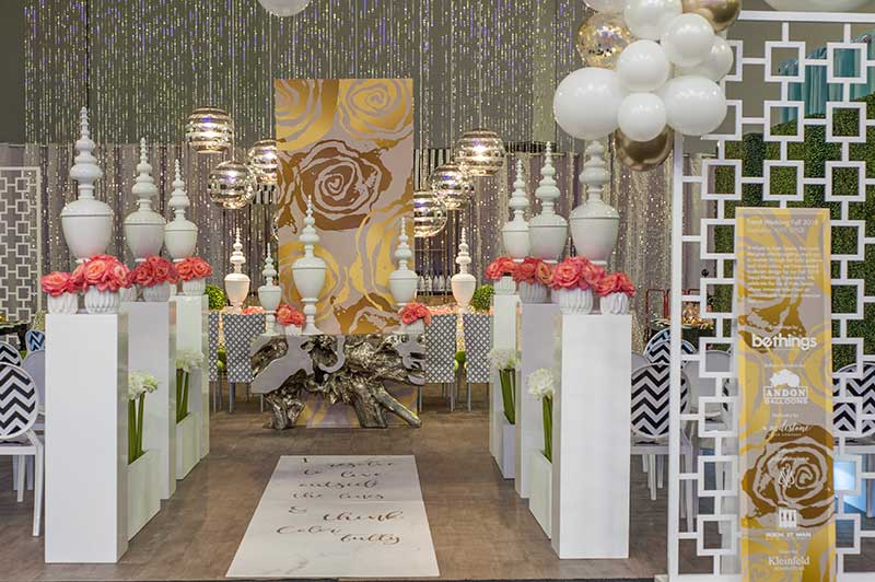 Trend wedding mini ceremony at the Trend Wedding Experience