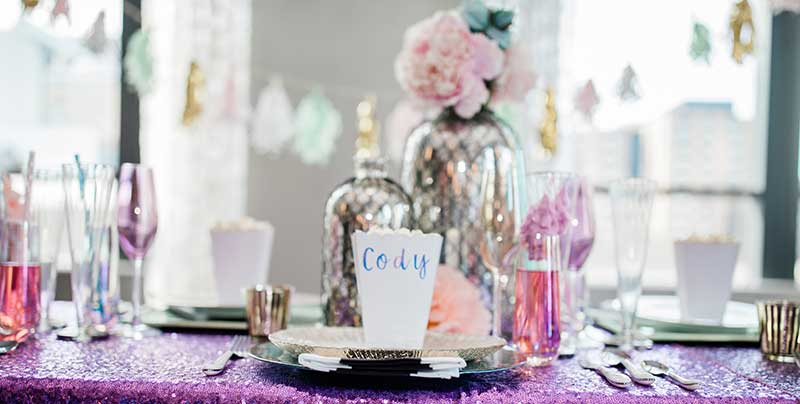 Cotton candy inspired wedding theme ideas