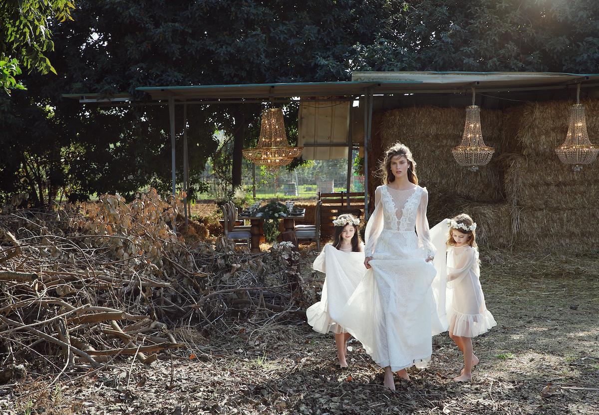 Lihi Hod Bridal Dreams Collection photo shoot