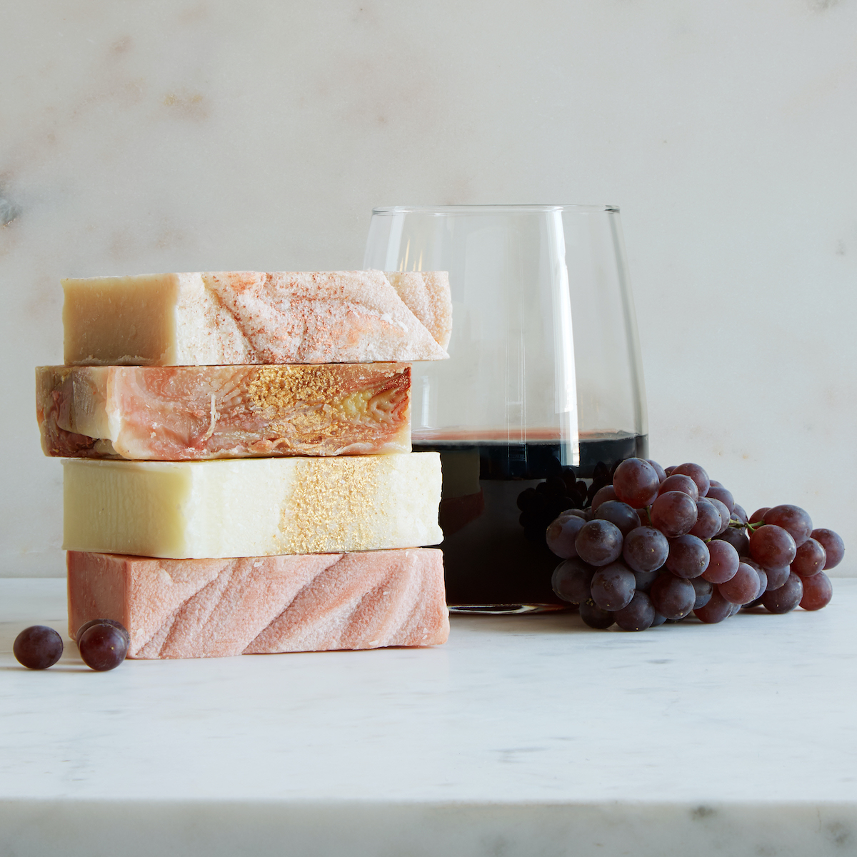 Wine soaps as a fun wedding shower gift