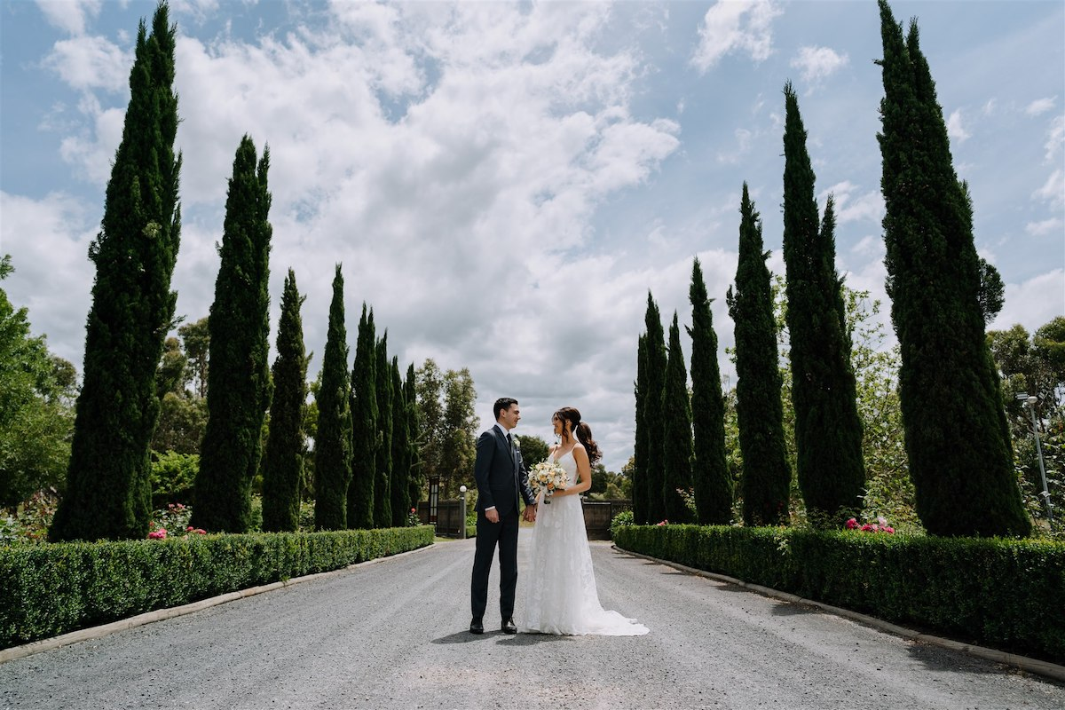 Chalet-inspired wedding