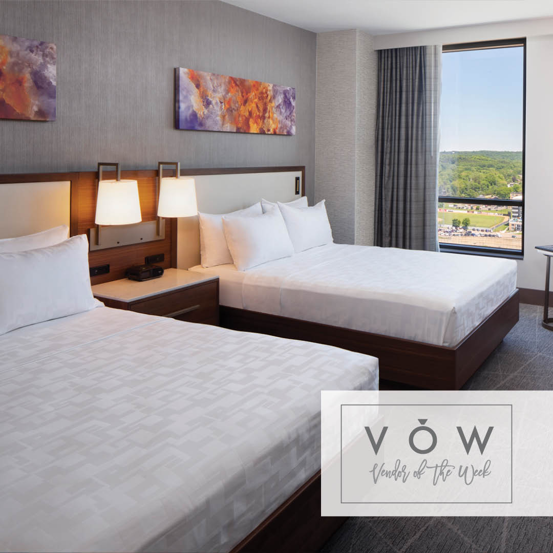 Luxury hotel guest rooms in Rochester Minnesota