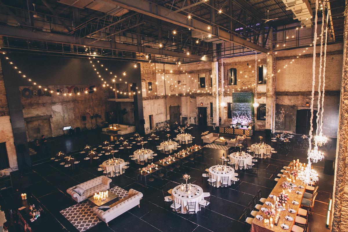Industrial wedding venue in Minneapolis
