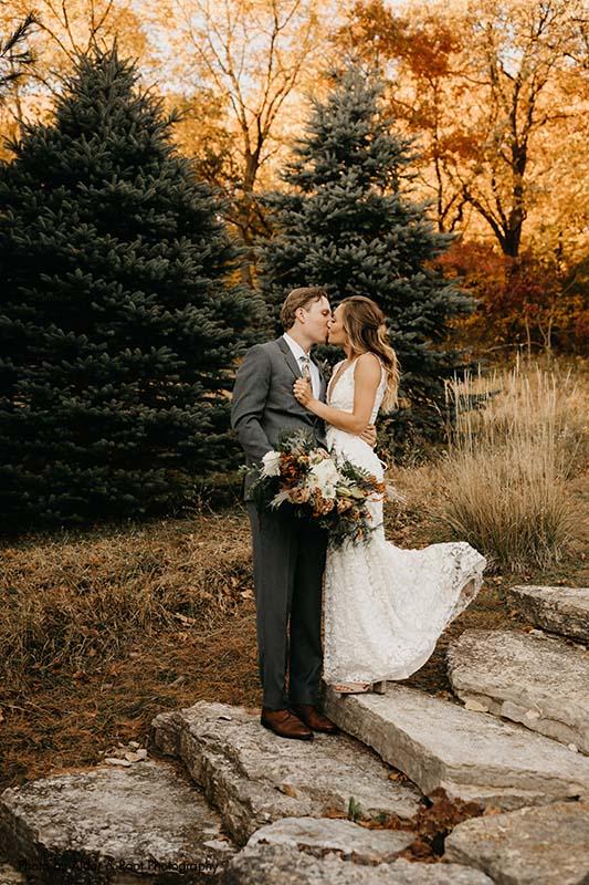 Fall MN wedding