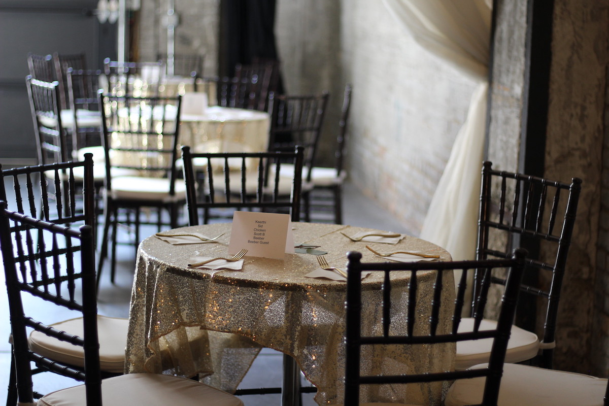 Seating cocktail hour for how to host a 2021 wedding reception