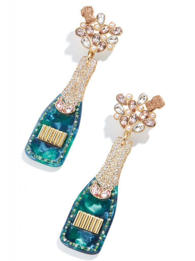 Champagne pop earrings