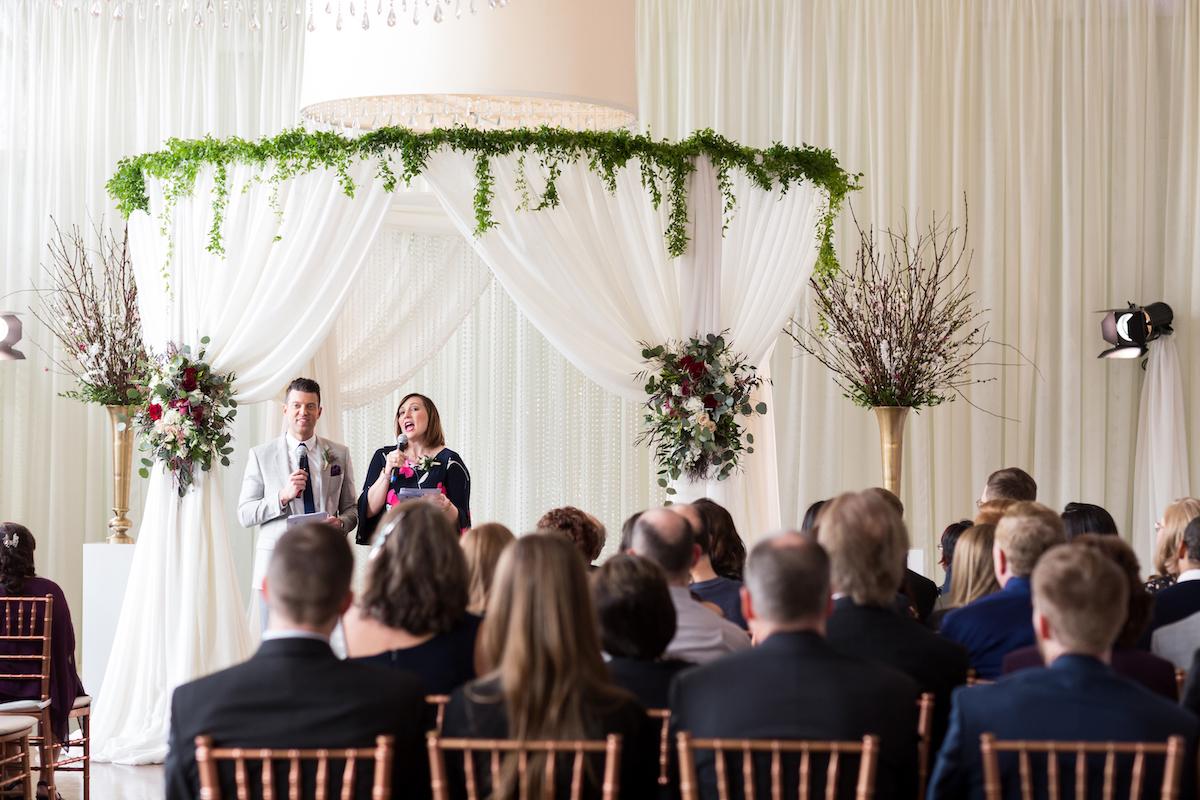 Twin Cities Live hosts speak at wedding