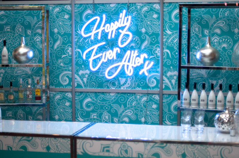 """""""Happily Ever After"""" wedding neon sign"""