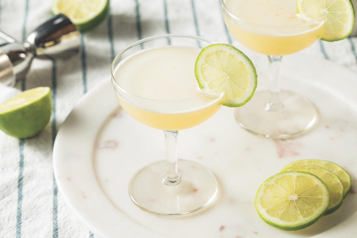 Lime daiquiri wedding cocktail