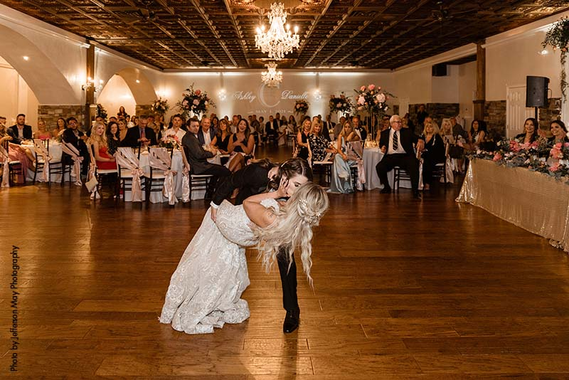 Brides share first dance as wives