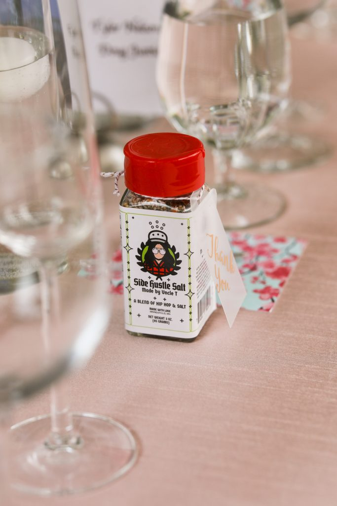 Supporting local business for wedding favors